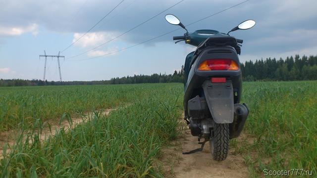 Люблю ровные полевые дороги