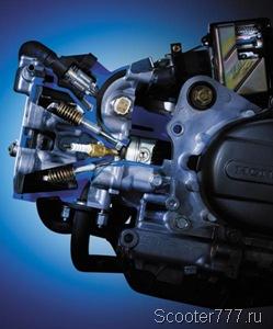 Двигатель Honda Smart Dio AF-63 Z4