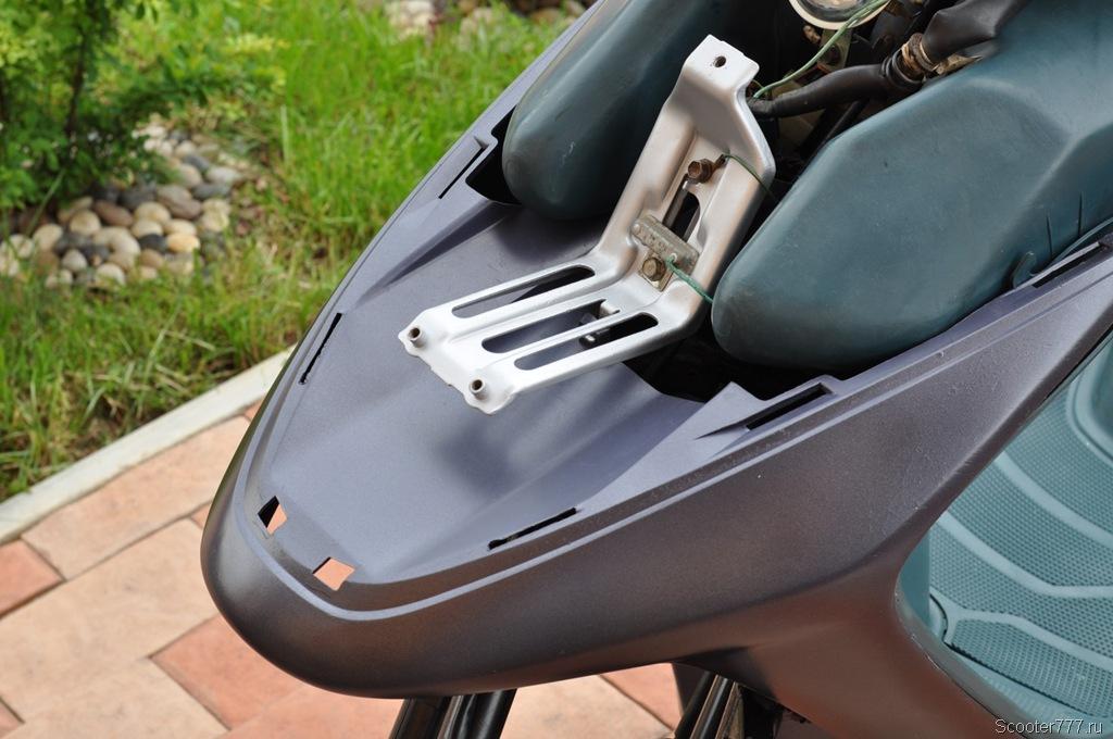 Покраска пластика скутера своими руками. Покраска скутера из ... | 680x1024