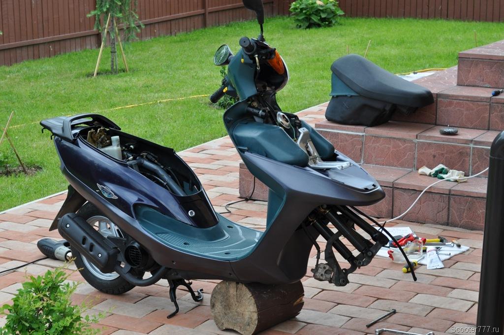 ремонт скутеров 150 куб своими руками китайский 4 тактный - Prakard | 680x1024