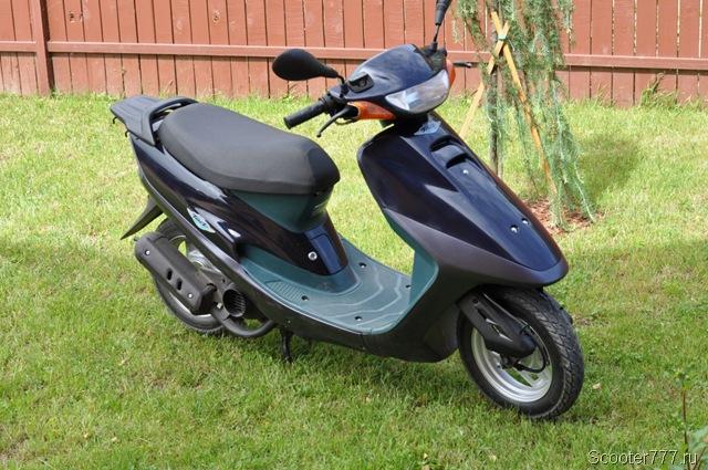 Приведённый в порядок б/у скутер Honda Tact S