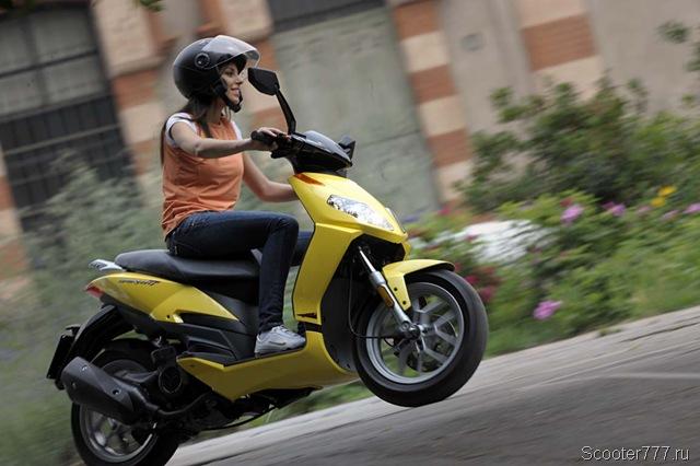 Экономичное вождение скутера