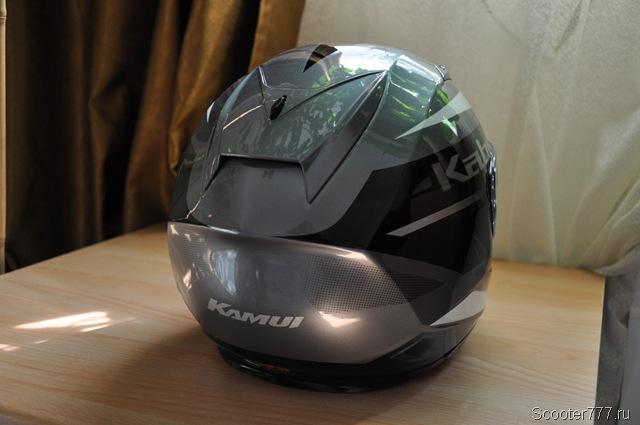 Затылочная часть шлема