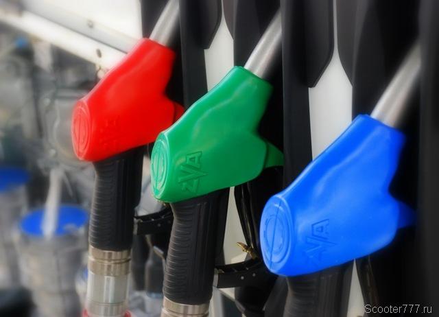 Каким бензином заправлять скутер