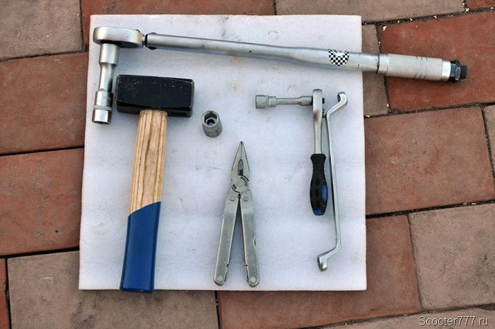 Инструмент для замены крестовин