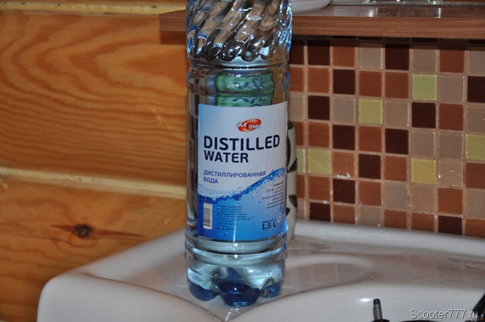 Дистиллированная вода