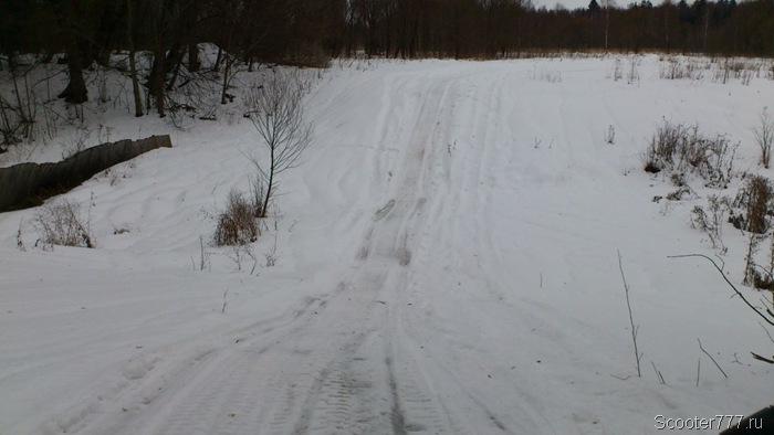 Дорога через болото