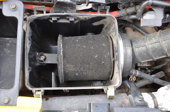 Пыльный фильтр квадроцикла