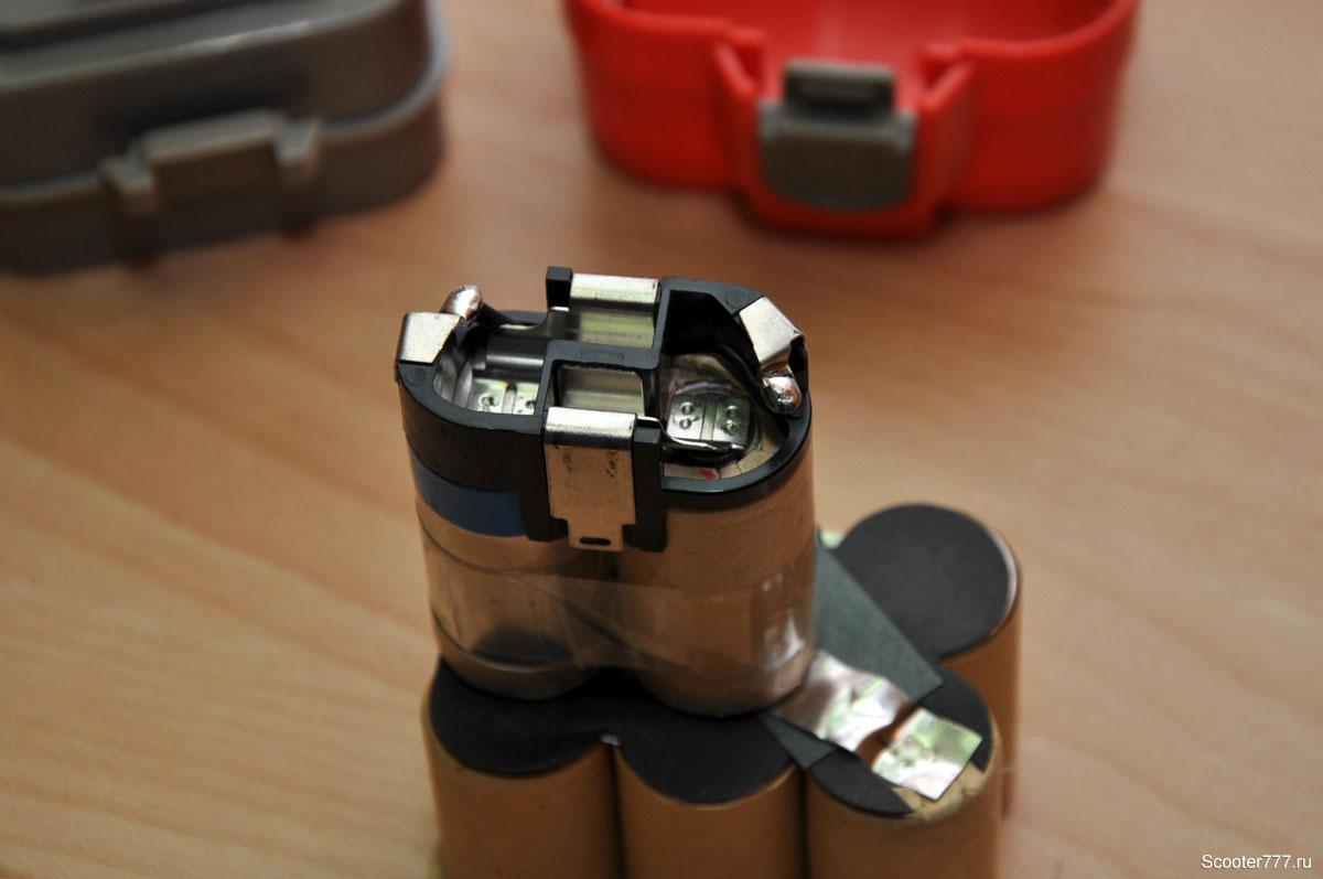 Ремонт литиевого аккумулятора для шуруповёрта своими руками 960