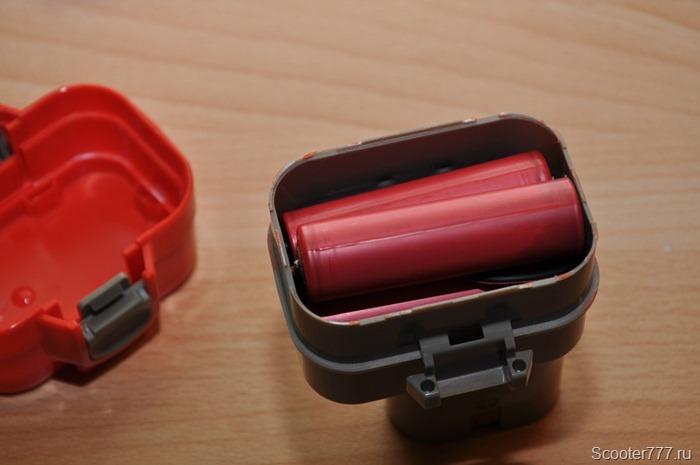 Аккумуляторы в корпусе