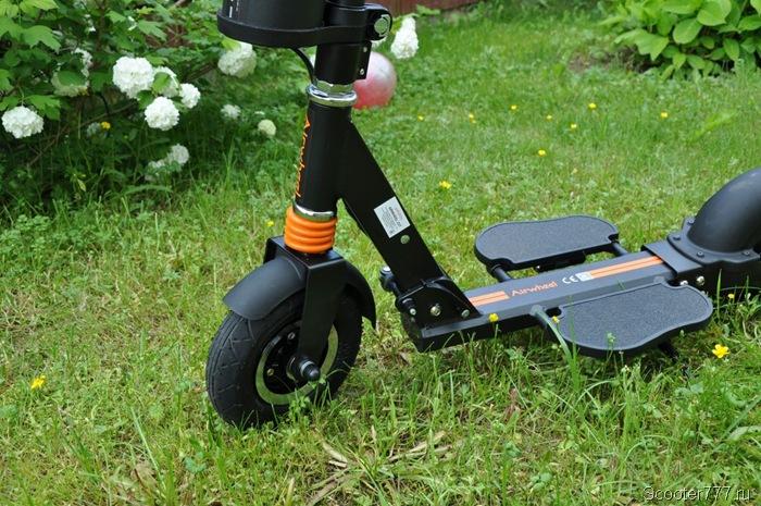 Airwheel Z3T в саду