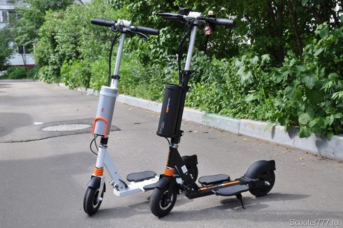 Самокаты Airwheel Z3 и Z3T