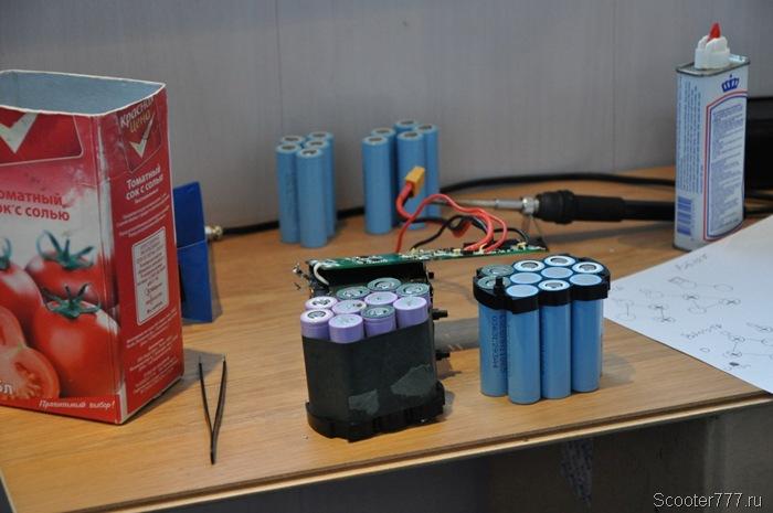Собираем новую батарею