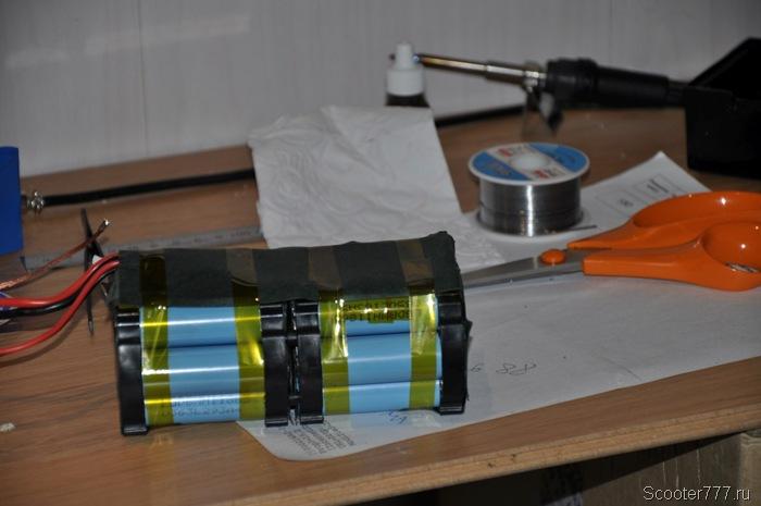 Сборка батареи