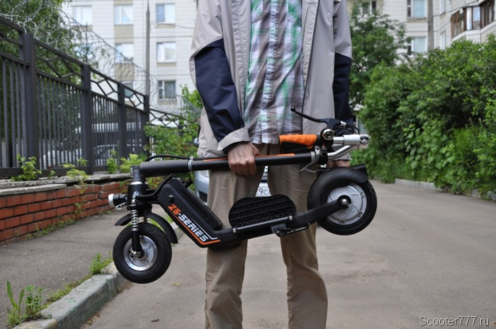 Airwheel Z5 в руках