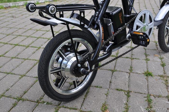 Правая часть велосипеда