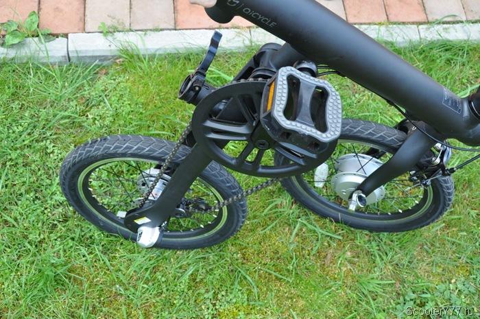 Складываем велосипед