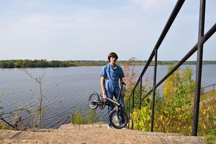 Несу велосипед
