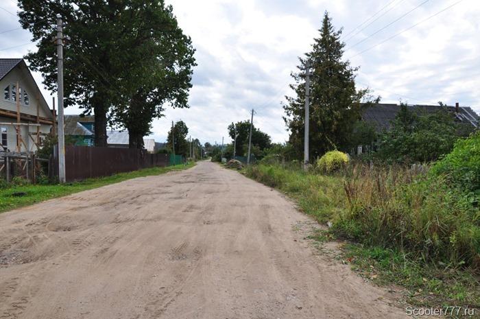 Ужасная деревенская дорога