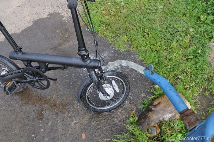 Моем велосипед