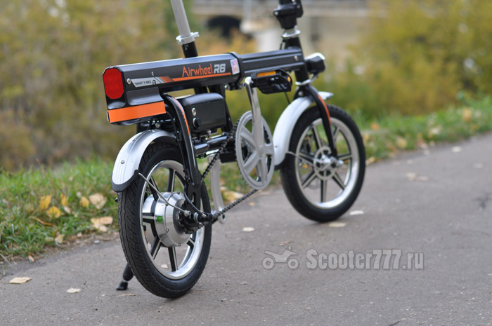 Airwheel R6 сзади