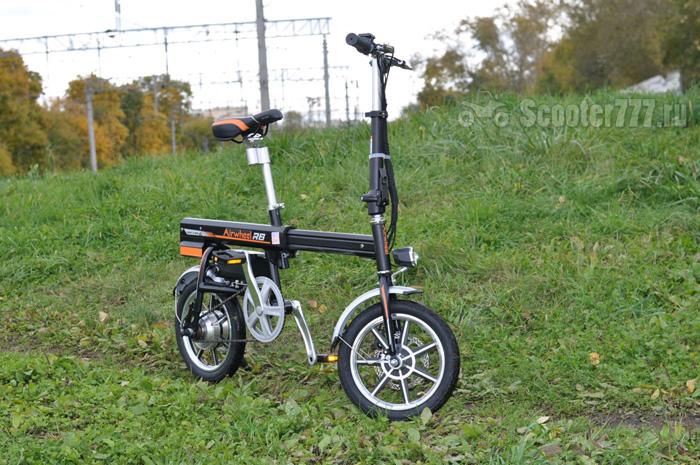 Велосипед на тропе