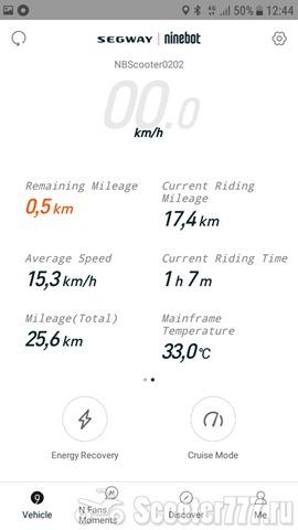 Пробег 17 км