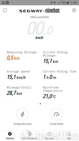 Пробег 15 км