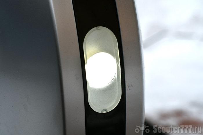 Передний фонарь