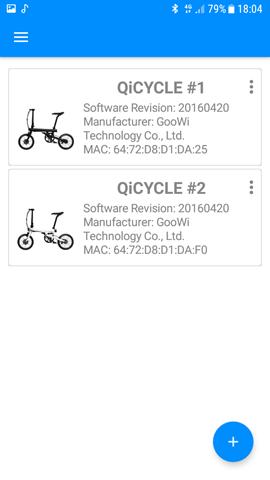Приложение для QiCYCLE