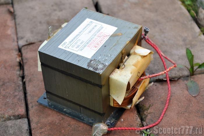 Трансформатор от микроволновки