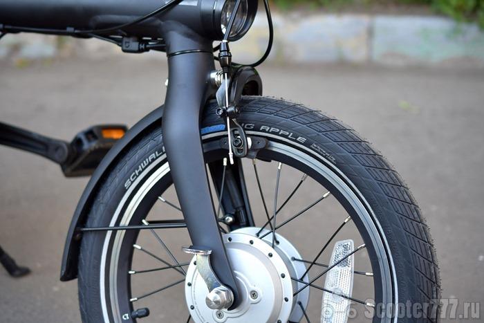Красивое переднее колесо