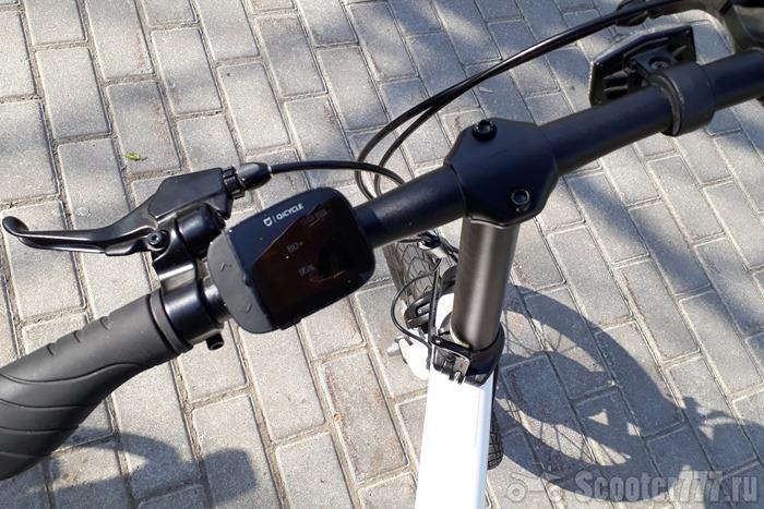 Велосипед нормально едет