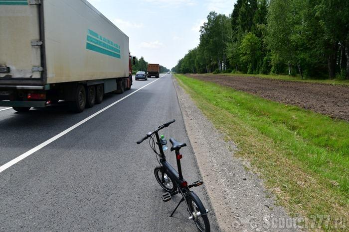 QiCycle на Калужском шоссе